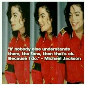 Personal Quote From Michael
