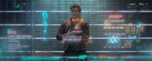Guardians of the Galaxy 바탕화면 entitled Peter Quill