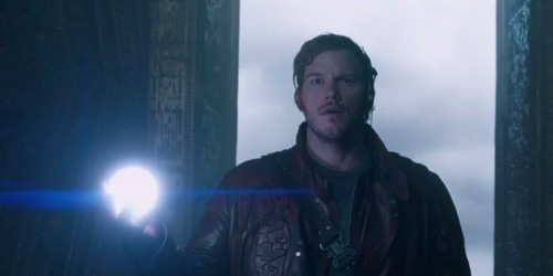 Guardians of the Galaxy 바탕화면 probably with an outerwear and a 거리 titled Peter Quill