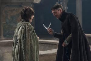 Petyr Baelish and Robin Arryn