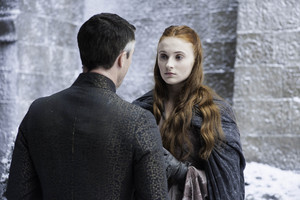 Petyr Baelish and Sansa Stark