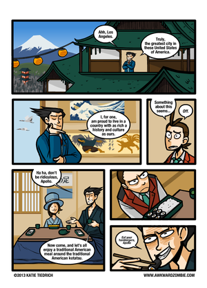 Phoenix Wright: Japanese or American?