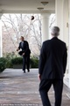 Playing Catch At The White House