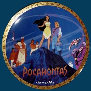 Pocahontas Collector's Plate