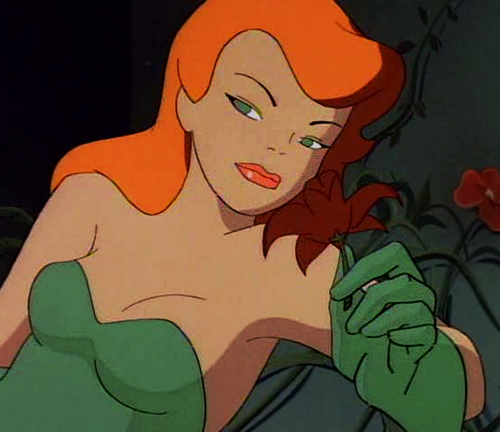 Childhood Animated Movie Villains hình nền containing anime entitled Poison Ivy (BatMan: the Animated Series)