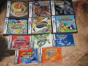 Pokemon video games