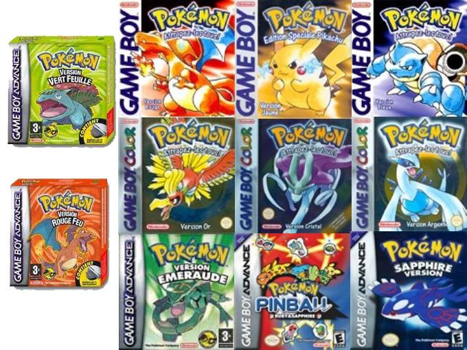 Pokemon video games