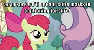Ponies and Captions