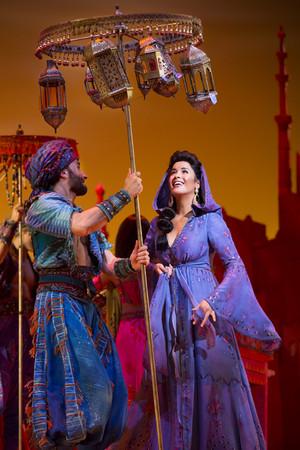 Princess jasmin on Broadway