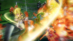 Queen Zelda in Hyrule Warriors