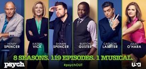 Psych Season 8 Poster