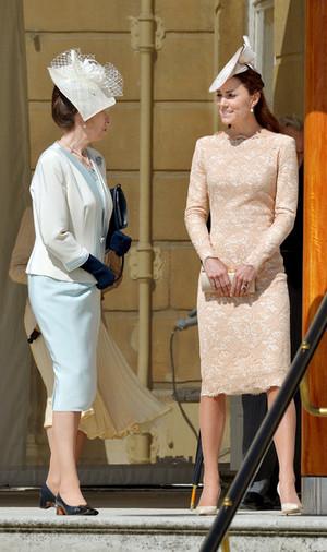Queen Elizabeth II Hosts a Garden Party