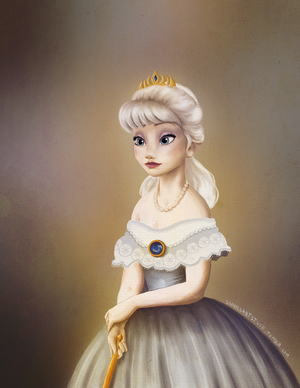 Queen Elsa of Arendelle Royal Portrait