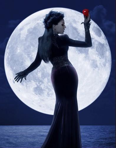 La Méchante Reine/Regina Mills fond d'écran titled Queen Regina HQ