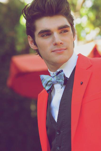 Hottest Actors wallpaper probably with a business suit titled RJ Mitte :D