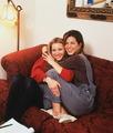 Rachel and Phoebe - friends photo