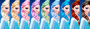 cầu vồng Elsa