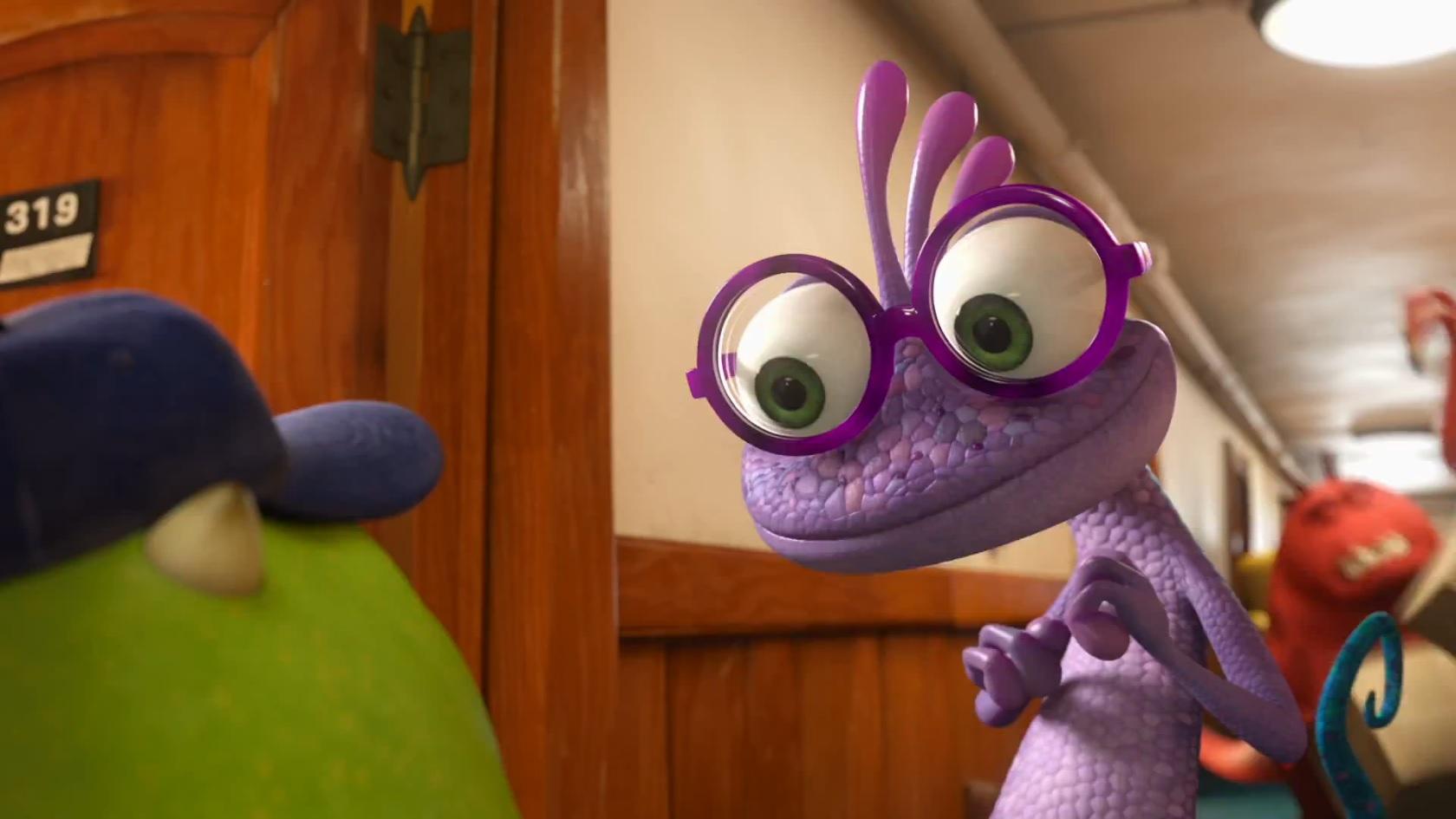 Randall meets Mike