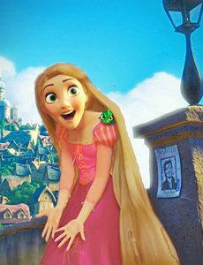 Rapunzel Recolor