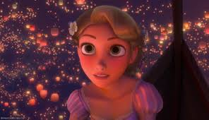 Rapunzel during I see the light