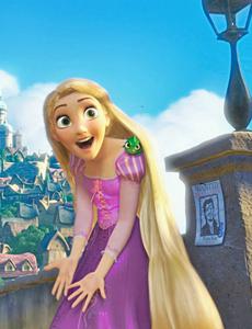 Rapunzel in Corona