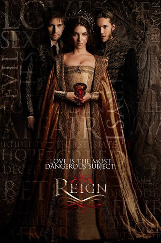Reign [TV Show] fond d'écran titled Reign l'amour is the most dangerous subject