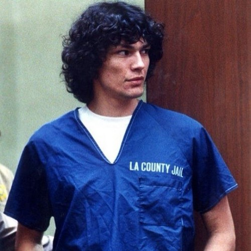 Serial Killers Hintergrund probably containing a jersey entitled Richard Ramirez