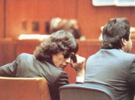 Serial Killers Hintergrund possibly containing a Lesen room, a boardroom, and a brasserie entitled Richard Ramirez