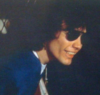 Serial Killers Hintergrund probably containing sunglasses and a fedora entitled Richard Ramirez