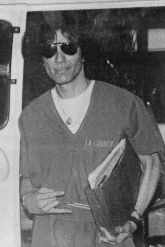 Serial Killers wallpaper probably with a sign called Richard Ramirez