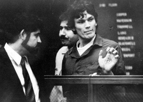 Serial Killers wallpaper with a business suit titled Richard Ramirez