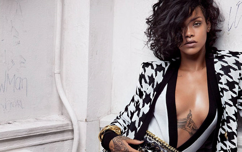 Rihanna wallpaper entitled Rihanna for Balmain