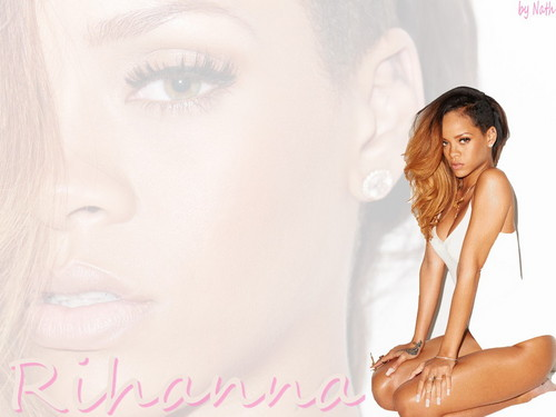 Rihanna wallpaper containing a portrait titled Rihanna