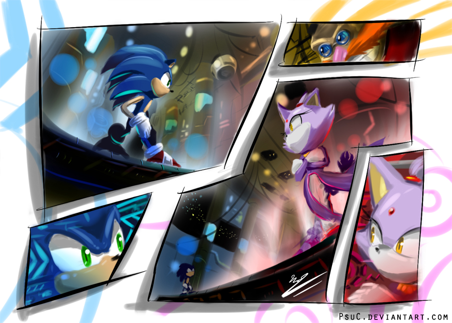 Sonic Rush Images Rushed Hd Wallpaper And Background Photos 37145583