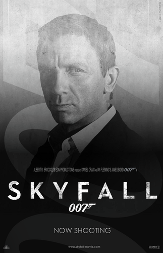 Skyfall wallpaper with a business suit titled SKYFALL