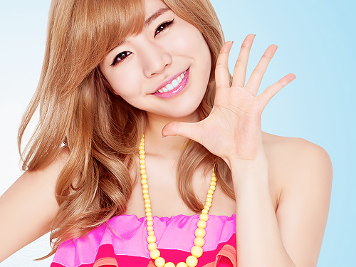 少女时代 壁纸 containing a portrait called SNSD Sunny
