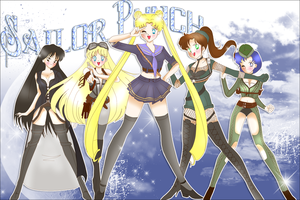 Sailor ngumi, punch - the Group