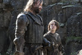 Sandor Clegane and Arya Stark - sandor-clegane photo