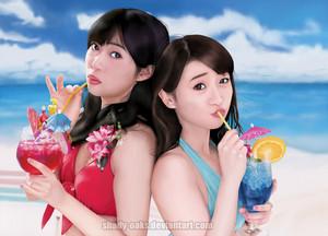 Sashihara Rino and Yuko