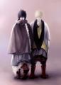 Sasuke Uchiha and Naruto Uzumaki - uchiha-sasuke fan art