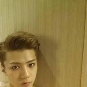 Sehun 140530 Instagram Update: good night