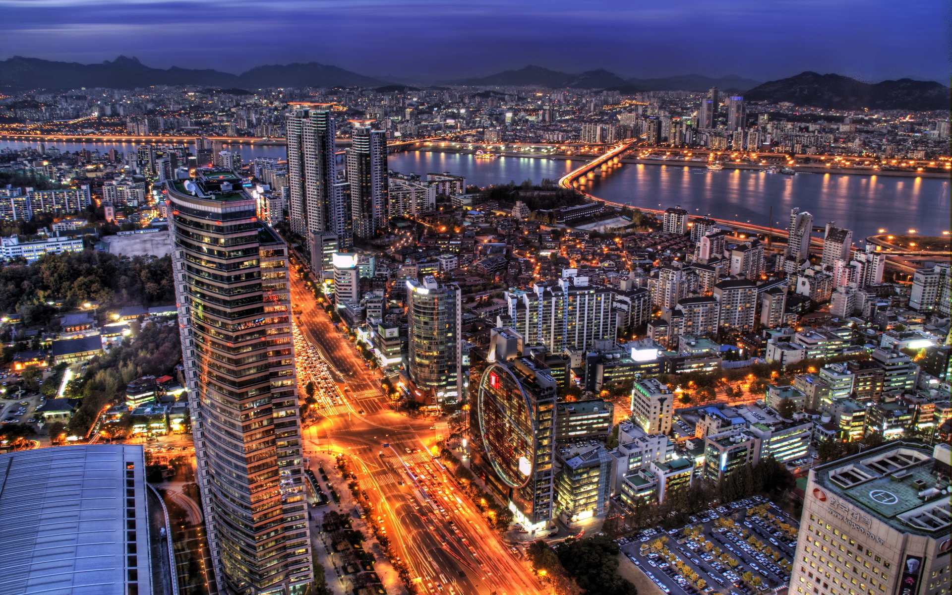 seoul images seoul night hd wallpaper and background photos (37135614)
