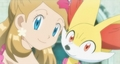 Serena and Fennekin - serena-pokemon-xy photo
