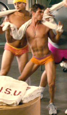 Sexy male dancer