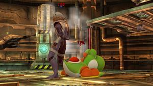 Sheik in Super Smash Brothers 4