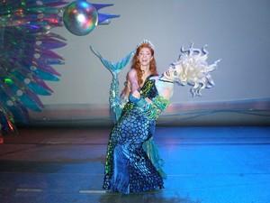 Sierra ( Ariel) and Sheri ( Ursula) dancing!