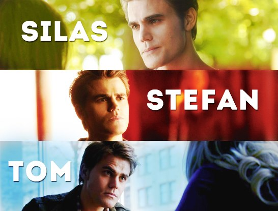 Silas, Stefan and Tom