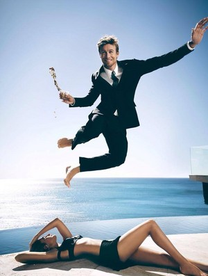 Simon Baker for Givenchy// Gentlemen Only
