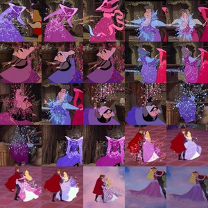 Sleeping Beauty - Color-changing moments