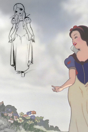Snow White Concept Art vs. Final